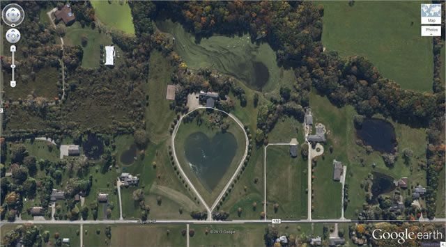 50 descubrimientos sorprendentes en Google Earth 11