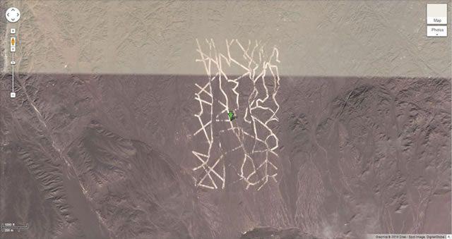 50 descubrimientos sorprendentes en Google Earth 12