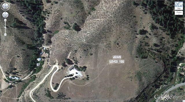50 descubrimientos sorprendentes en Google Earth 15
