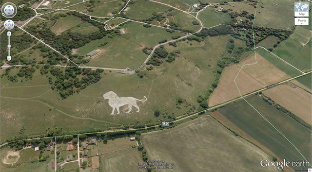 50 descubrimientos sorprendentes en Google Earth 16
