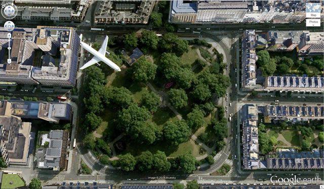 50 descubrimientos sorprendentes en Google Earth 22