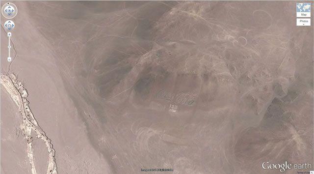 50 descubrimientos sorprendentes en Google Earth 23