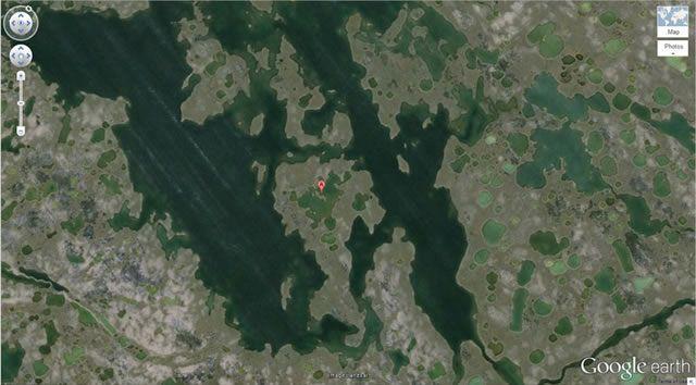 50 descubrimientos sorprendentes en Google Earth 25