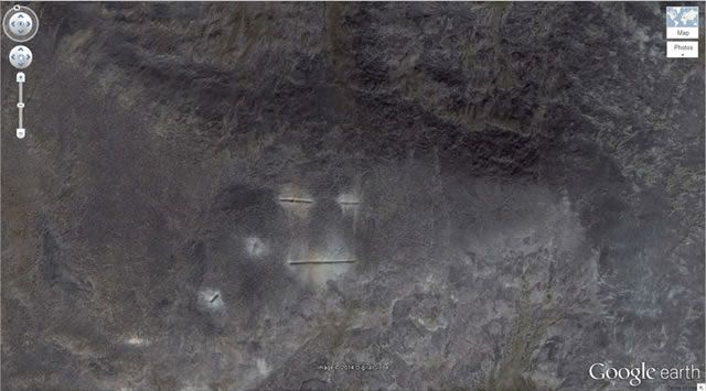 50 descubrimientos sorprendentes en Google Earth 28