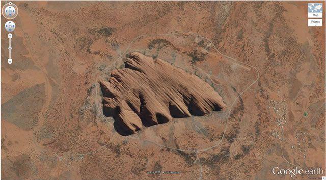 50 descubrimientos sorprendentes en Google Earth 38