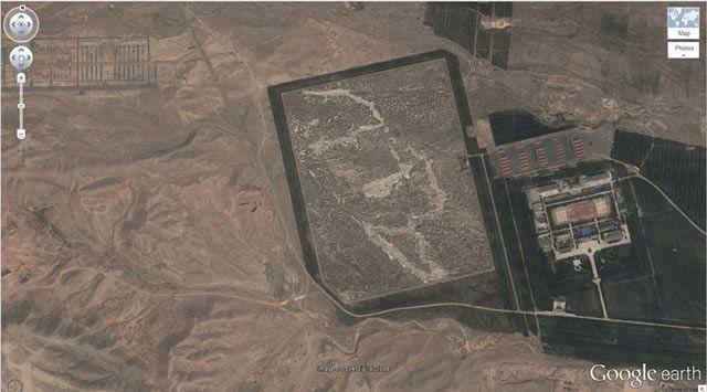 50 descubrimientos sorprendentes en Google Earth 39