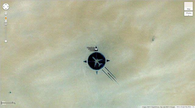 50 descubrimientos sorprendentes en Google Earth 40