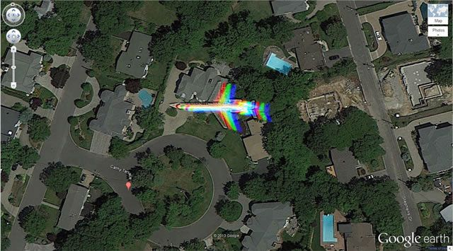 50 descubrimientos sorprendentes en Google Earth 42
