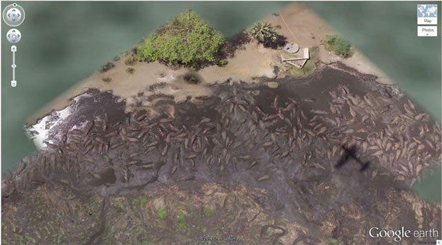 50 descubrimientos sorprendentes en Google Earth 45