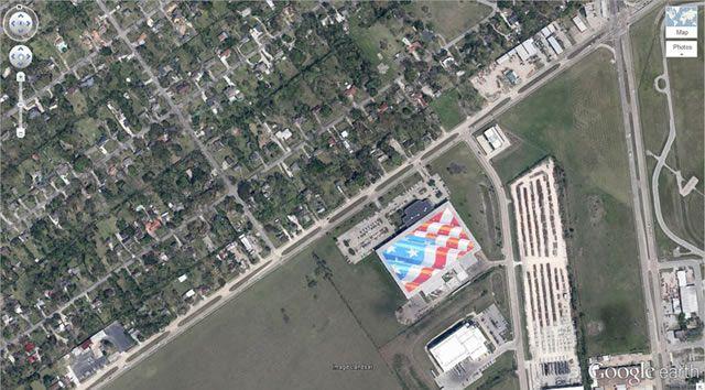 50 descubrimientos sorprendentes en Google Earth 47