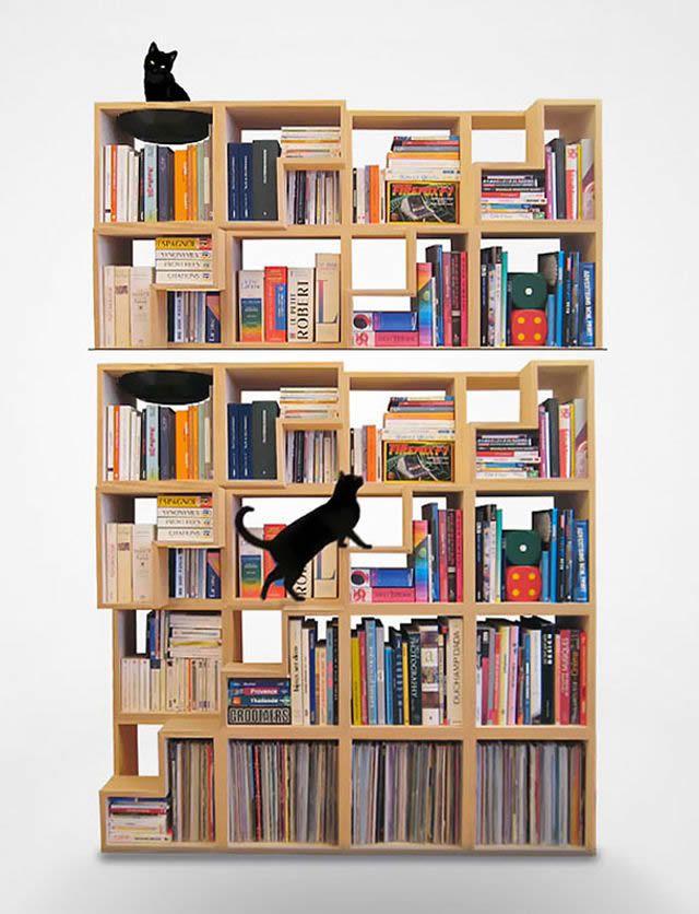 21 ideas creativas muebles para mascotas 01