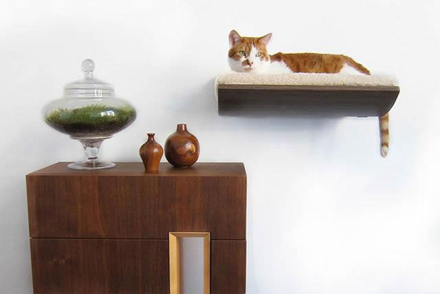 21 ideas creativas muebles para mascotas 14