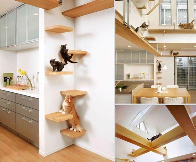 21 muebles para amantes de animales dom sticos marcianos for Muebles para gatos ikea