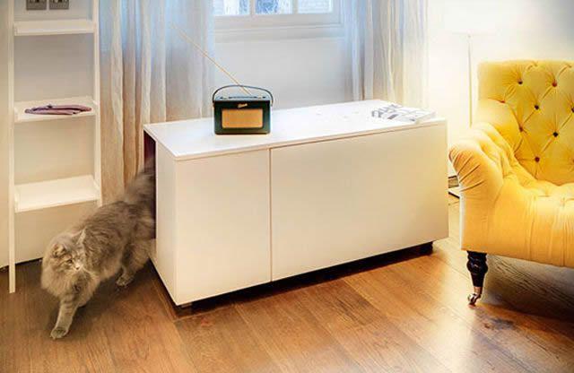 21 ideas creativas muebles para mascotas 30