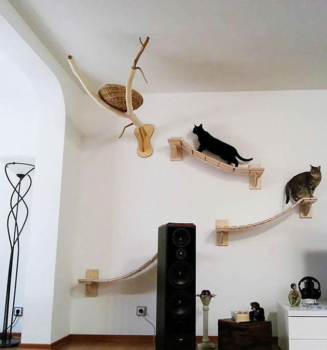 21 ideas creativas muebles para mascotas 35