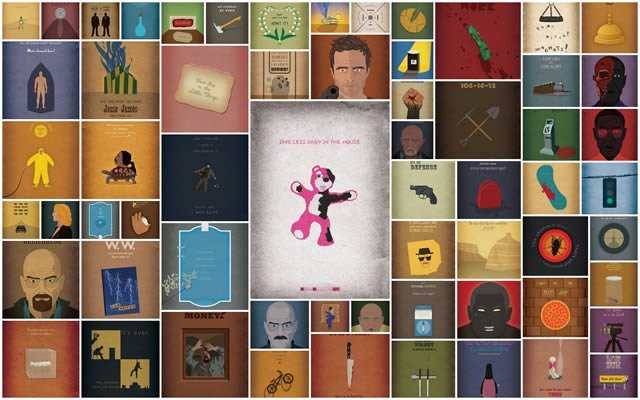 62 posters de Breaking Bad