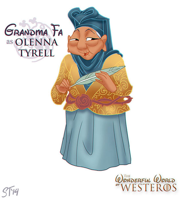 Munde de Princesas de Disney en Game Of Thrones (6)