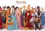 princesas diney game of thrones