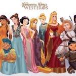 Las Princesas de Disney en Game Of Thrones