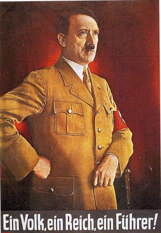 in Volk, Ein Reich, Ein Führer!