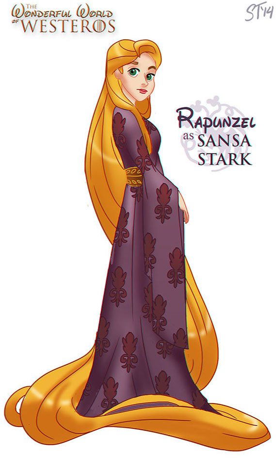 Munde de Princesas de Disney en Game Of Thrones (5)