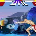 Juego Ryu vs Sagat