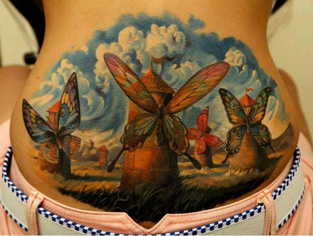 Los tatuajes más realistas del mundo Tatuajes_realistas_Dmitriy_Samohin_03