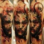 Tatuajes realistas espectaculares de Dmitriy Samohin