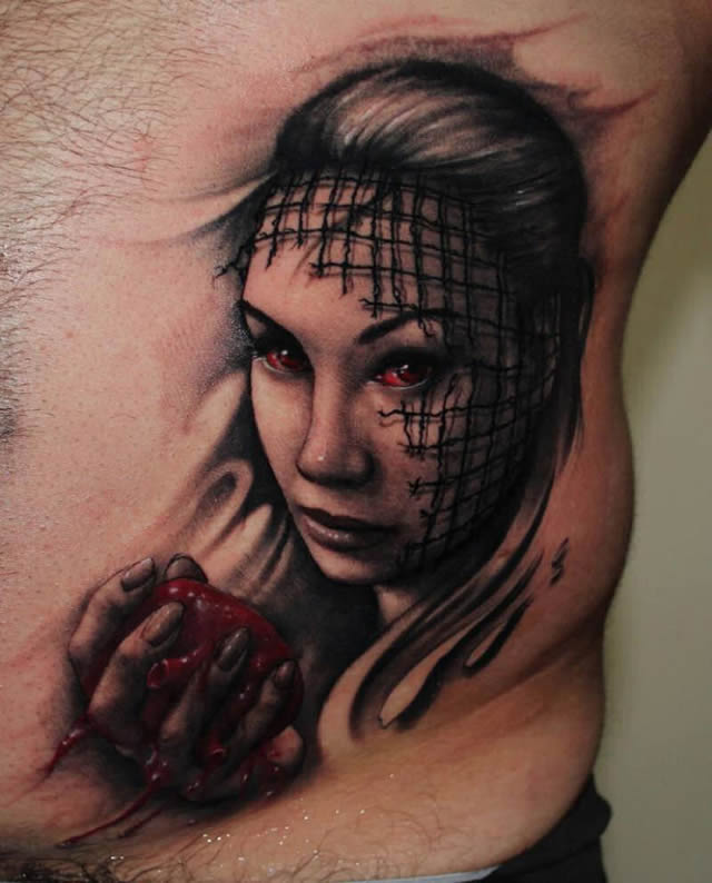 Los tatuajes más realistas del mundo Tatuajes_realistas_Dmitriy_Samohin_06