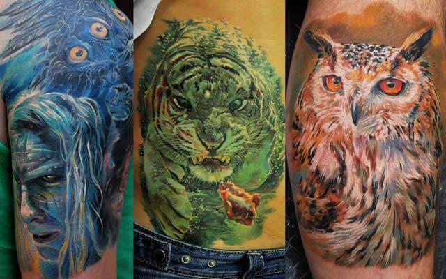 tatuajes realistas Dmitriy Samohin (30)