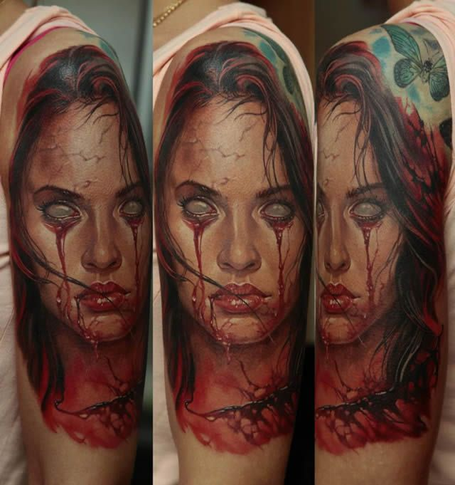 Los tatuajes más realistas del mundo Tatuajes_realistas_Dmitriy_Samohin_09