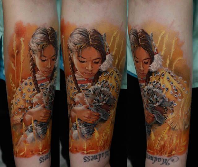 Los tatuajes más realistas del mundo Tatuajes_realistas_Dmitriy_Samohin_10