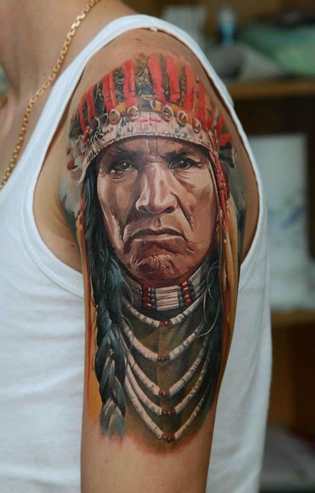 Los tatuajes más realistas del mundo Tatuajes_realistas_Dmitriy_Samohin_14