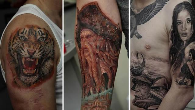 Los tatuajes más realistas del mundo Tatuajes_realistas_Dmitriy_Samohin_23