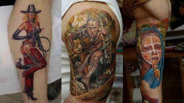 Los tatuajes más realistas del mundo Tatuajes_realistas_Dmitriy_Samohin_27
