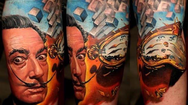 Tatuajes realistas espectaculares de dmitriy samohin for Los mejores tatuadores