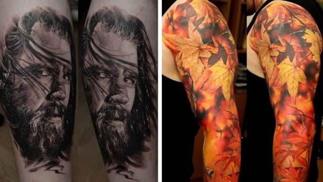 Los tatuajes más realistas del mundo Tatuajes_realistas_Dmitriy_Samohin_30