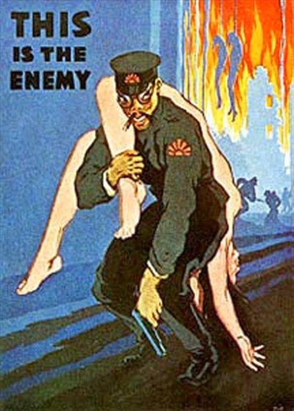 This is the Enemy cartel segunda guerra mundial