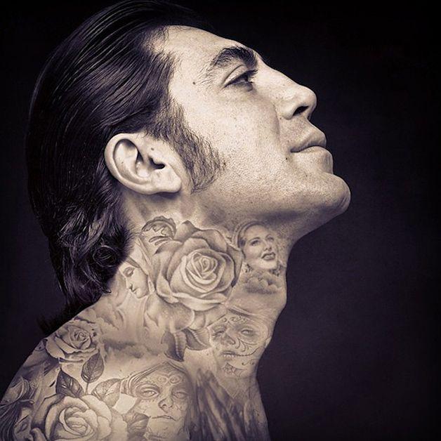 Tatuajes de javier bardem