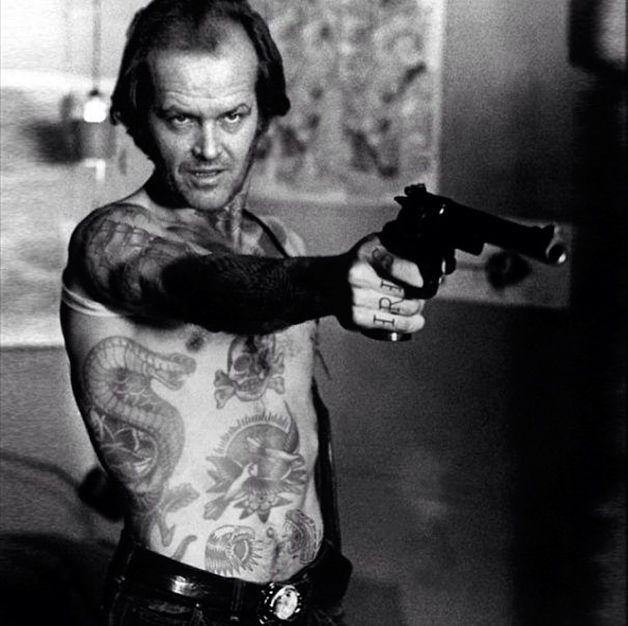 Tatuajes de jack nicholson