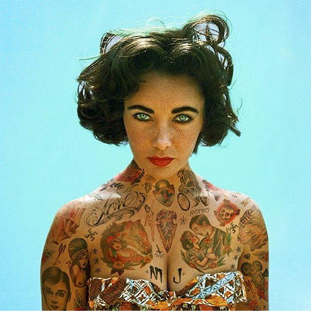 Tatuajes de elizabe thtaylor