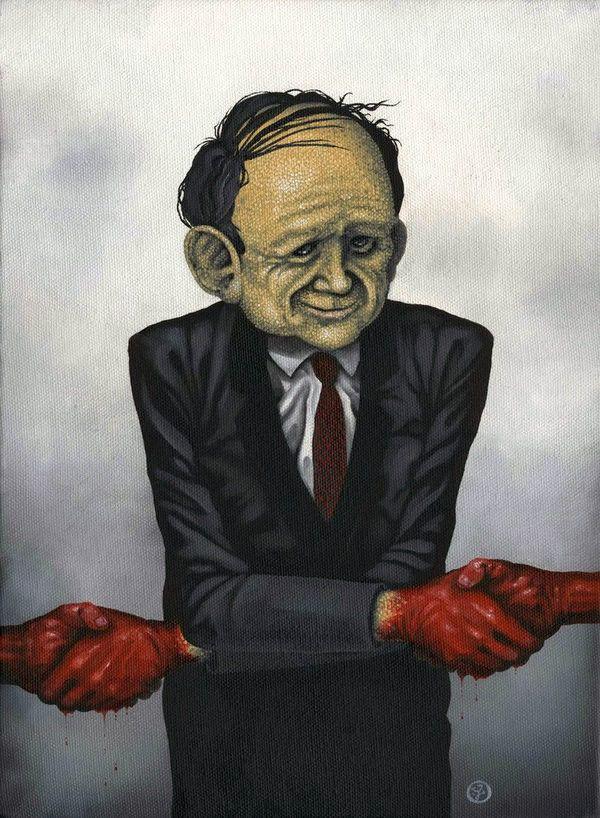 Pinturas Jeff Christensen surrealismo Corrupción (10)
