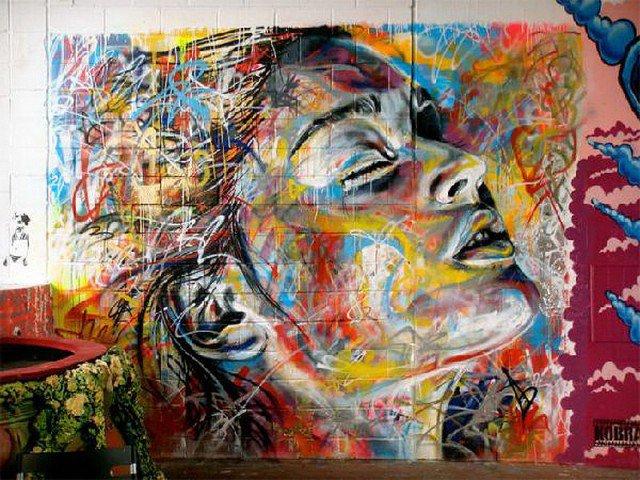 Retratos grafiti por David Walker (7)