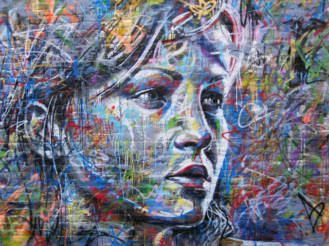 Retratos grafiti por David Walker (6)