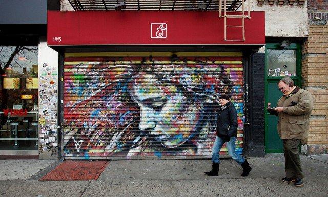 Retratos grafiti por David Walker (12)