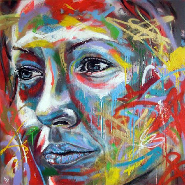 Retratos grafiti por David Walker (9)