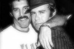Freddie Mercury y Elton John