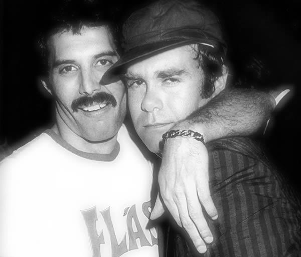 La Interesante y Triste Historia de Amistad entre Freddie Mercury y Elton John