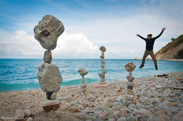 Michael Grab rocas en equilibrio (2)