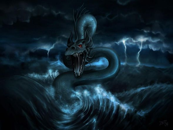 Monstruos Marinos (1) serpiente